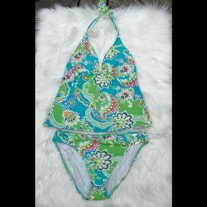 Ralph Lauren Floral Tankini Swimsuit